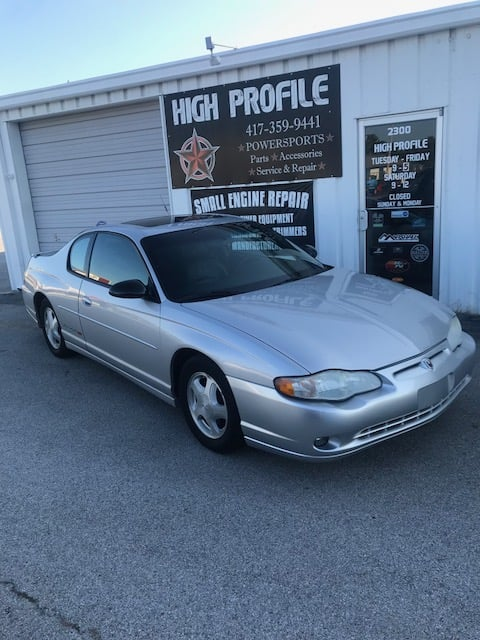 2001 Chevy Monte Carlo Ss High Profile Power Sports