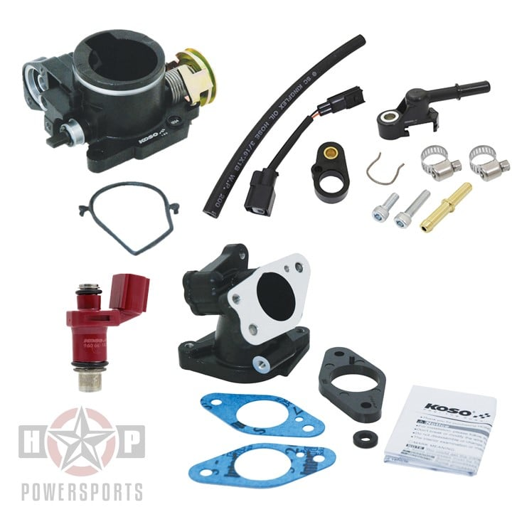 KOSO Performance Throttle Body & Injector System for Honda MSX125 Grom