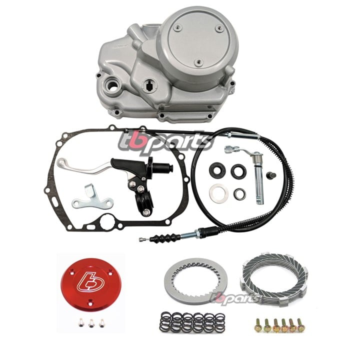 TBparts Kawasaki KLX110 Manual Clutch Kit Bundle TBW0343 TBW0460 TBW1035