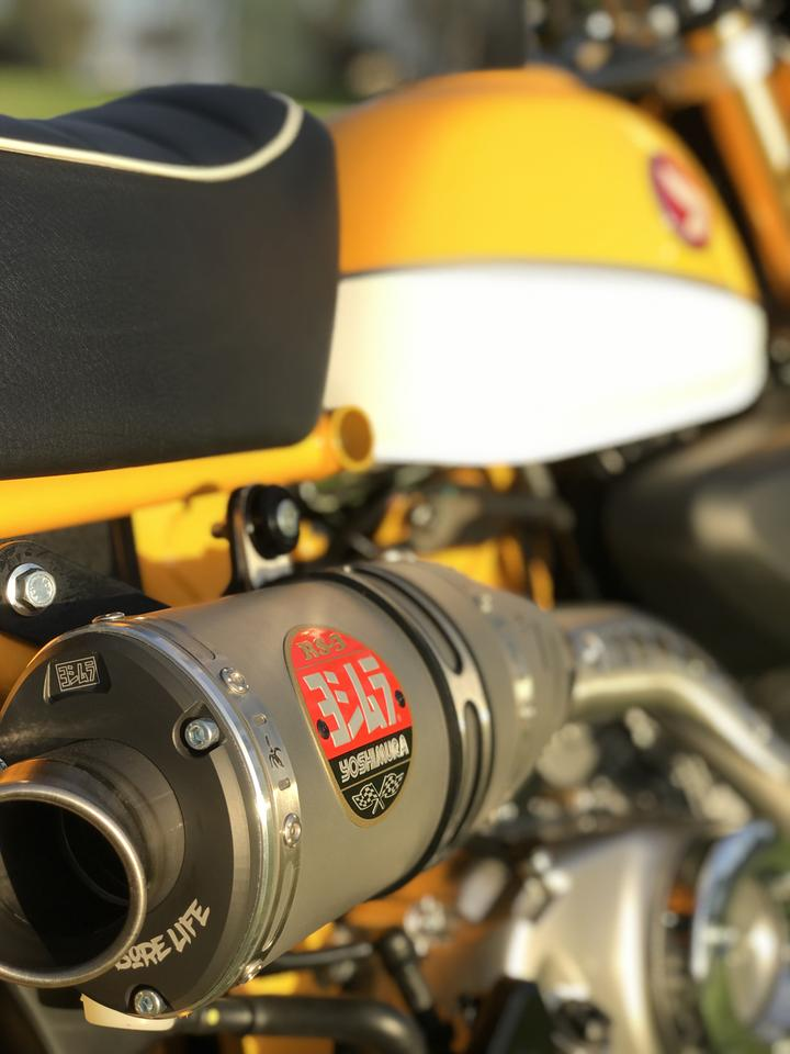 Yoshimura 2019 Honda Monkey 125 Full System Race Exhaust Rs 3 12130a5500