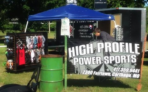 High Profile set up for business
